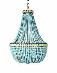 aqua beaded chandelier inspirational marjorie skouras turquoise empire chandelier dering hall