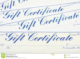 gift certificate background stock photography image  gift certificate background