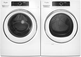 kenmore front load washer and dryer. whirlpool wfw5090gw - shown with matching dryer kenmore front load washer and e