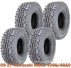 Utv Wheel Weight Chart Full Set 4 Atv Utv Tires 23x11 10 6pr Fit For 09 17 Kawasaki Mule 4000 4010