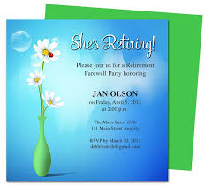 Open Office Greeting Card Templates Printable Diy Vase Retirement Party Invitations Templates
