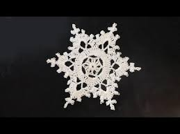 Crochet Snowflake Pattern Awesome How To Crochet Snowflakes YouTube