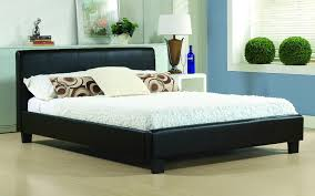 Time Living Hamburg Faux Leather Bed Frame - Mattress Online