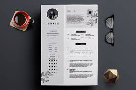 Modern Look Resume 65 Eye Catching Cv Templates For Ms Word Free To Download