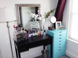 makeup by alli new makeup storage organization room tour