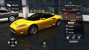 Test Drive Unlimited 2 - Unofficial Patch vehicles - Spyker C8 ...