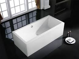caesar 60 x 31 white rectangle soaking bathtub by pacific collection