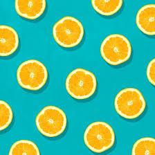 Fruit Pattern Beauteous Oranges Fruit Pattern Art Print POP ART KITSCH Pinterest