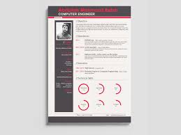 Resume Modern Format Free Modern Engineer Resume Template In Psd Format