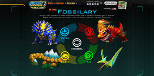 Fossil Fighters Frontier Type Chart Fossil Fighters Elements Related Keywords Suggestions