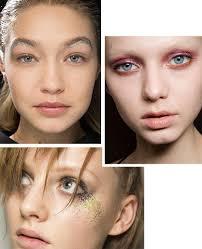 glitter eye makeup trend fall 2016