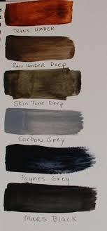 Matisse Colour Chart Derivan Matisse Flow Acrylics Library Wetcanvas