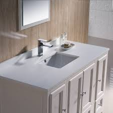 traditional style antique white bathroom: fresca  antique white traditional bathroom vanity mirror faucet  cabinets