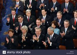 1 28 03 STATE OF THE UNION ADDRESS Cabinet members and Senators ...