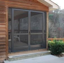 amusing screens for patio doors sliding screen door grass floor outdoor white frame