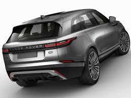 3D Land Rover Range Rover Velar 2018 | CGTrader
