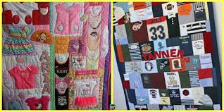 how to diy memory baby clothes quilts