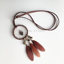 Dream Catcher Neclace Amazing High Quality Feather Necklaces Dream Catcher Necklace Native