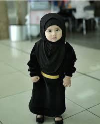 Bayi Berhijab Cantik