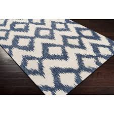 stupefying navy blue ikat rug modest design navy blue diamond ikat dhurrie rugs sky iris