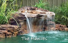 in ground pools with waterfalls. Maldives Swimming Pool Waterfalls Kit In Ground Pools With