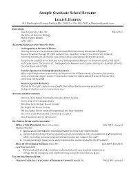 Resume For Graduate School Sample Recent Graduate Resume Health Care Nurse Resume Examples ...