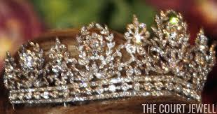 Queen Josefina's <b>Diamond Tiara</b>   The Court Jeweller