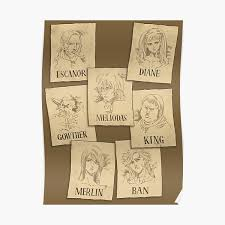 Ten years later, these holy warriors attempted a coup, were able to kill the king, and are now the new tyrannical rulers of england. Meliodas Gifts Merchandise Redbubble