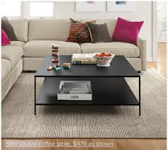 slim square coffee table 479 as shown
