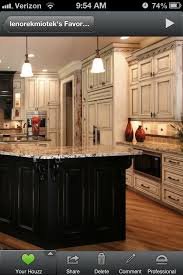 cabinet and lighting. love the dark and light kitchen cabinets cabinet lighting