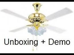 crompton ur 1200mm 72 watt ceiling fan ivory unboxing demo