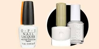 Nyc Nail Polish Color Chart The 10 Best White Nail Polishes Flattering White Nail Colors