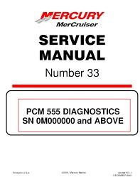 Mercury Mercruiser 496 Mag Diagnostics Service Repair Manual