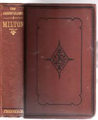 john milton milton john the poetical works of john milton