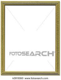 frame border design. Stock Photography - Decorative Gold Empty Picture Frame Border Design. Fotosearch Search Photos Design