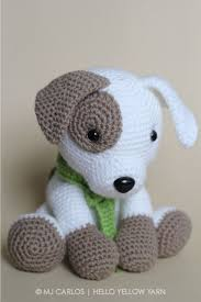 Crochet Dog Pattern Impressive Crochet Amigurumi Puppy Dog PATTERN ONLY Jack Pup Pdf Stuffed