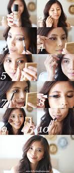 everyday brown smokey eye makeup