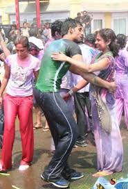 Indian college girls groped