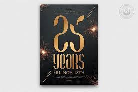 Anniversary Template Birthday Anniversary Flyer Template Thats Design Store