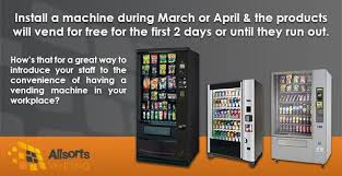 Vending Machine Business Toronto Stunning At Allsorts Vending We Supply Vending Machines At No Cost To