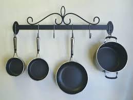 hanging pot rack diy pots and pans rack hanging pot pan wall mounted macrame hanging pot