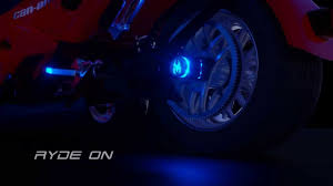 Firepower Wheel Lighting Glo Ryder Rear Wheel Light For Spyder Can Am Install