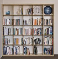 make furniture  plywood bookshelf with open back and individual