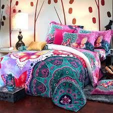 colorful bedding sets bedding duvet cover bed sheet pillow set multi color print blushed bedding set