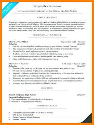 9 10 How To Word Babysitting On A Resume Nhprimarysource Com