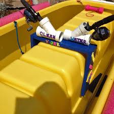 fishing rod holder kayak diy