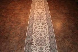 14 foot runner rug traditional rugs wool and silk new china oriental hand knotted