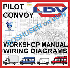 smiffy s wire in vans pickups ldv convoy pilot workshop repair service manual wiring diagrams van commercial