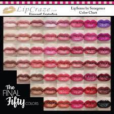 Lipsense Colors Chart Senegence Lipsense Color Chart Lipsense Lip Colors Lip