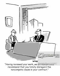 Noncompete Clause Non Compete Clause Cartoons And Comics Funny Pictures From